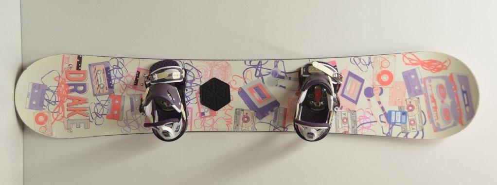 Drake snowboard kötéssel