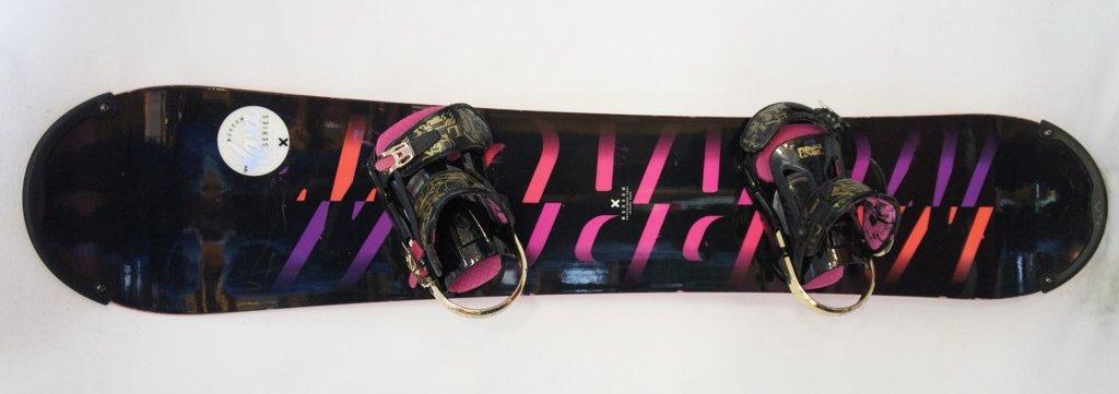 Morrow snowboard kötéssel