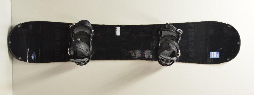 Rossignol snowboard kötéssel