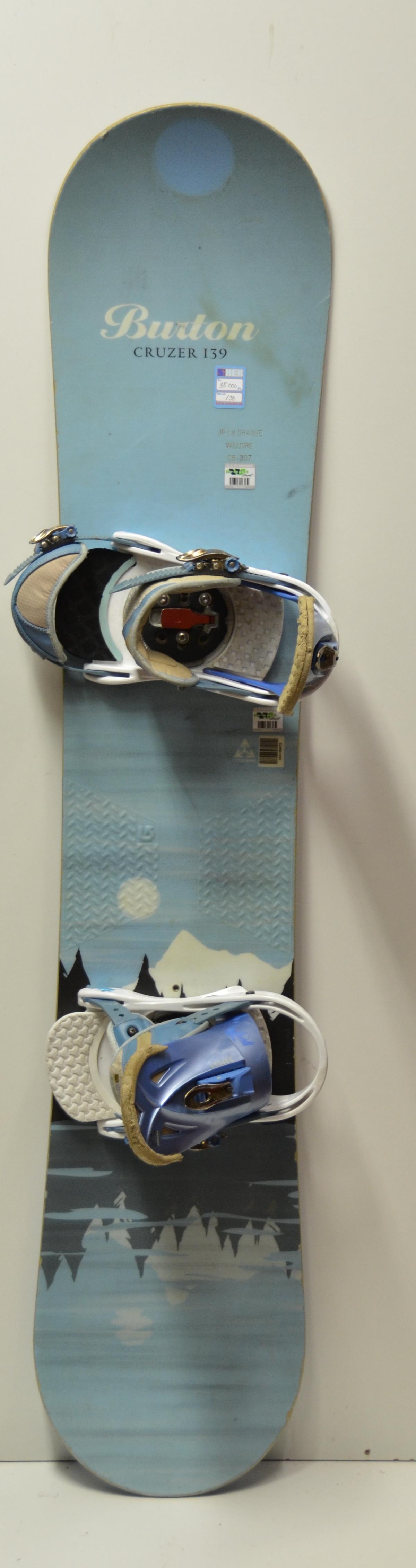 Burton Cruzer snowboard